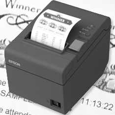 prize voucher thermal printer slot machine